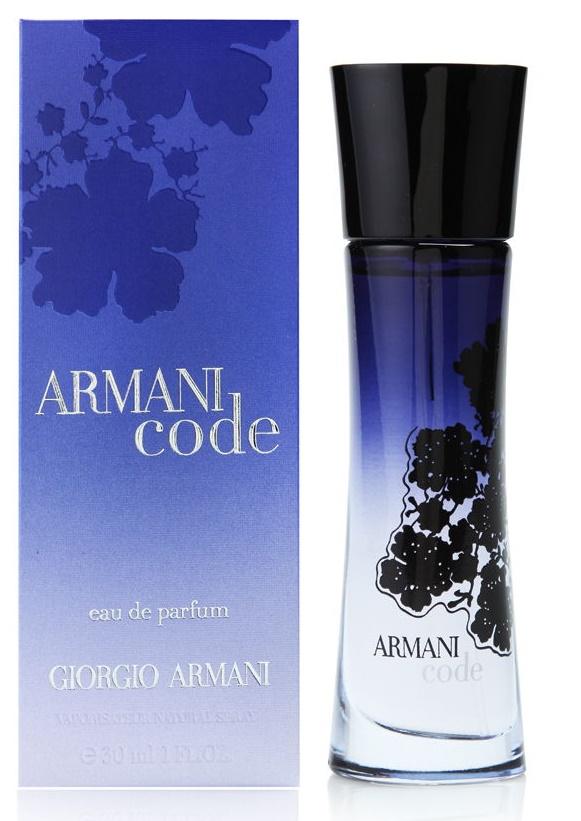Giorgio Armani Code for Women, Parfémovaná voda, 30ml, Dámska vůně, + AKCE: dárek zdarma