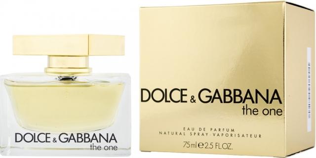 Dolce & Gabbana The One, Parfémovaná voda, 75ml, Dámska vôňa, + AKCE: dárek zdarma