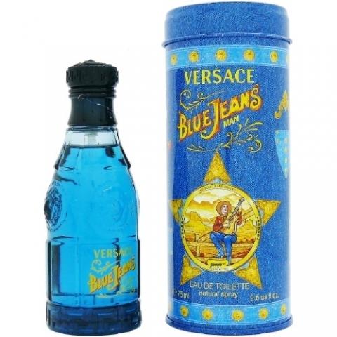 Versace Blue Jeans, Toaletní voda, 75ml, Pánska vôňa, + AKCE: dárek zdarma