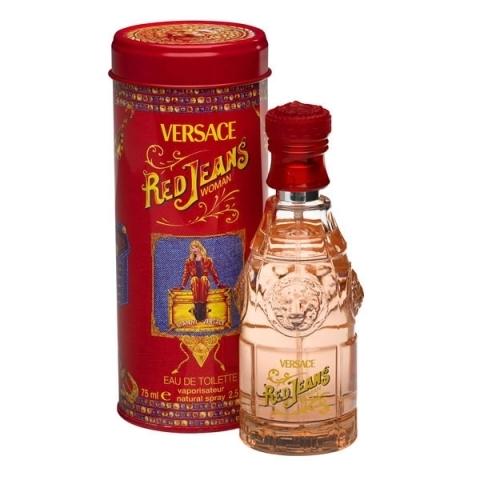 Versace Red Jeans, Toaletní voda, 75ml, Dámska vôňa, + AKCE: dárek zdarma