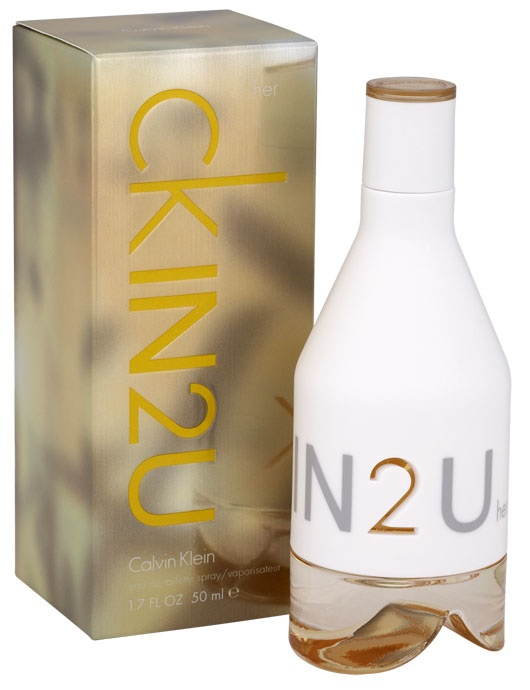 Calvin Klein In2U, Toaletní voda, 50ml, Dámska vôňa, + AKCE: dárek zdarma