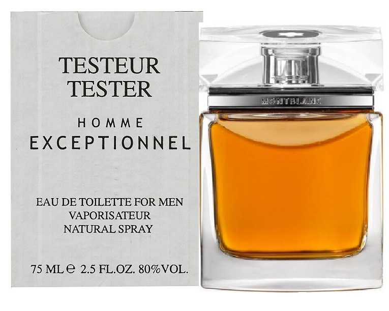 Mont Blanc Homme Exceptionnel, Toaletní voda - Tester, 75ml, Pánska vôňa, + AKCE: dárek zdarma