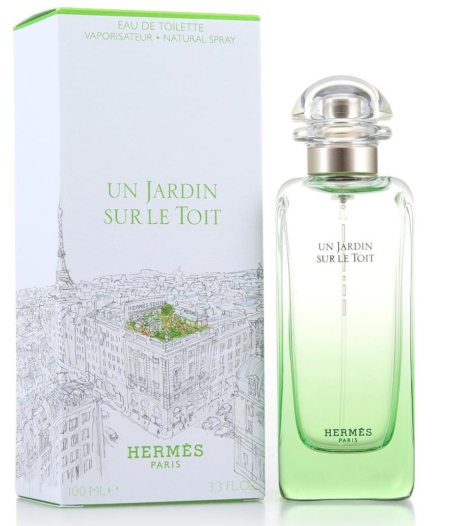 Hermes Un Jardin Sur Le Toit, Toaletní voda, 100ml, Dámska vôňa, + AKCE: dárek zdarma