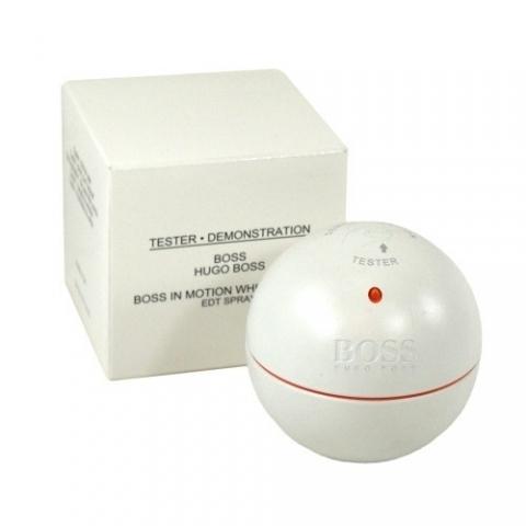 Hugo Boss In Motion White, Toaletní voda - Tester, 90ml, Pánska vôňa, + AKCE: dárek zdarma