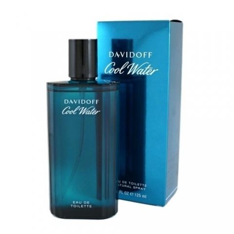 Davidoff Cool Water Man, Toaletní voda, 125ml, Pánska vôňa, + AKCE: dárek zdarma