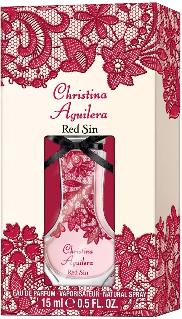 Christina Aguilera Red Sin, Parfémovaná voda, 15ml, Dámska vůně, + AKCE: dárek zdarma