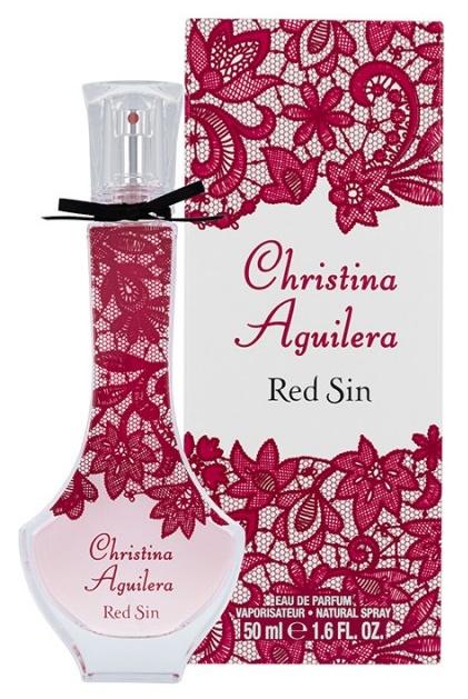 Christina Aguilera Red Sin, Parfémovaná voda, 50ml, Dámska vůně, + AKCE: dárek zdarma
