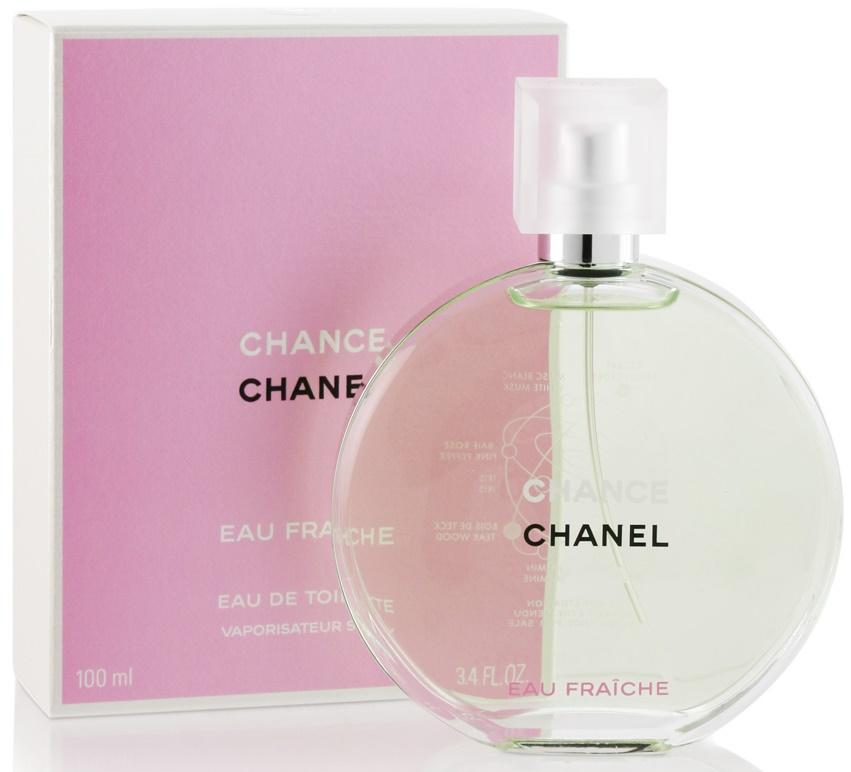 Chanel Chance Eau Fraiche, Toaletní voda, 100ml, Dámska vôňa, + AKCE: dárek zdarma