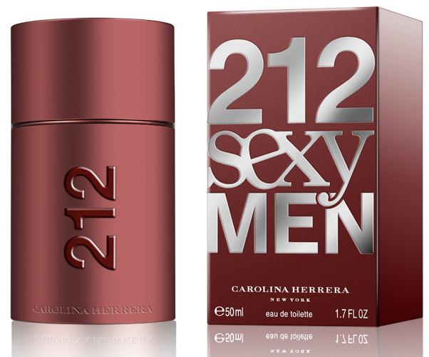Carolina Herrera 212 Sexy for Men, Toaletní voda, 50ml, Pánska vôňa, + AKCE: dárek zdarma
