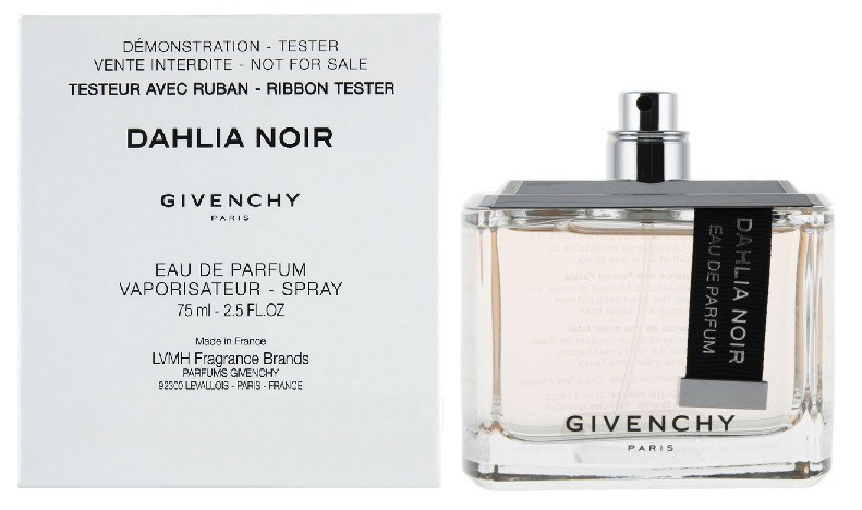 Givenchy Dahlia Noir Ribbon, Parfémovaná voda - Tester, 75ml, Dámska vôňa, + AKCE: dárek zdarma