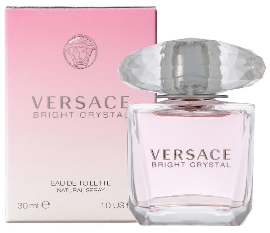 Versace Bright Crystal, Toaletní voda, 30ml, Dámská vůně, + AKCE: dárek zdarma