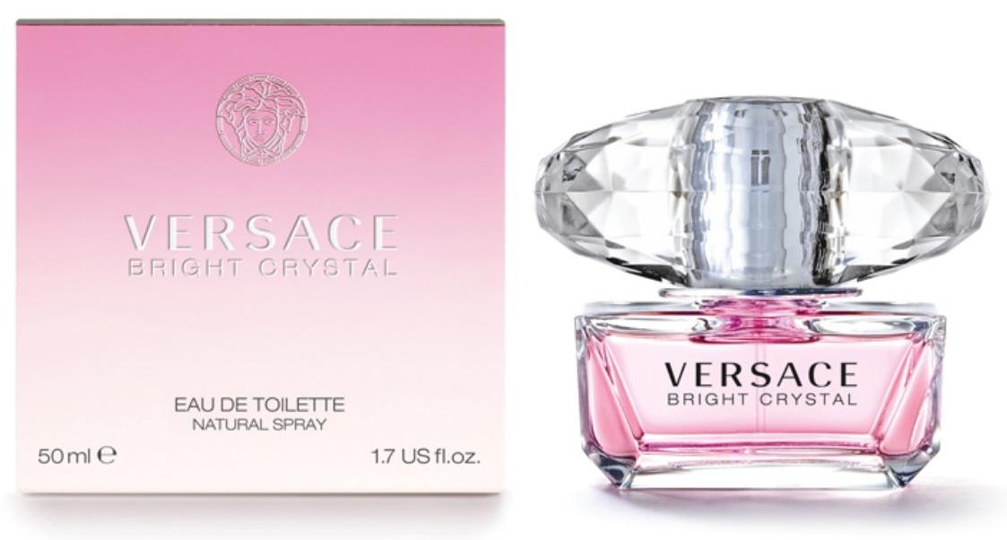 Versace Bright Crystal, Toaletní voda, 50ml, Dámska vôňa, + AKCE: dárek zdarma