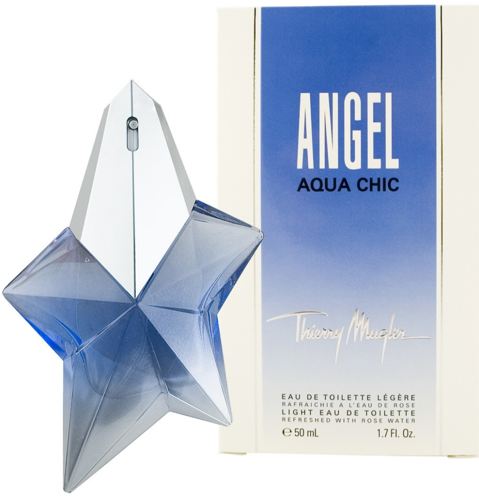 Thierry Mugler Angel Aqua Chic, Toaletní voda, 50ml, Dámska vôňa, + AKCE: dárek zdarma