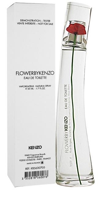 Kenzo Flower by Kenzo, Toaletní voda - Tester, 50ml, Dámska vôňa, + AKCE: dárek zdarma