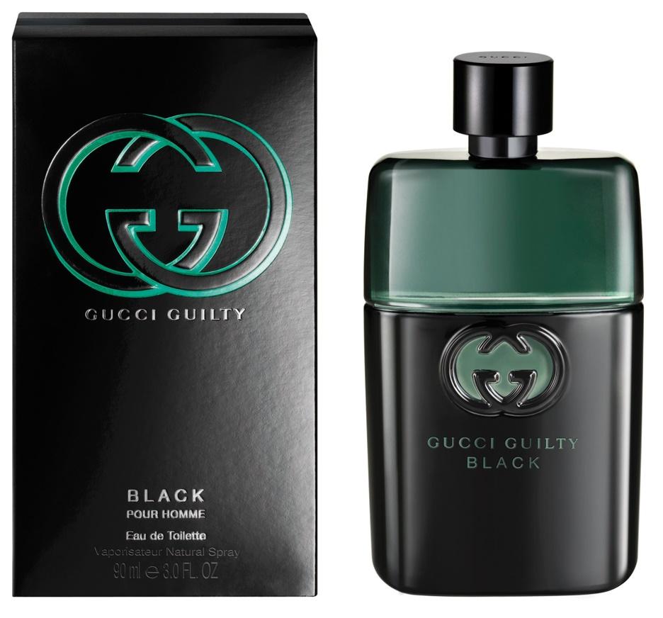Gucci Guilty Black pour Homme, Toaletní voda, 90ml, Pánska vôňa, + AKCE: dárek zdarma