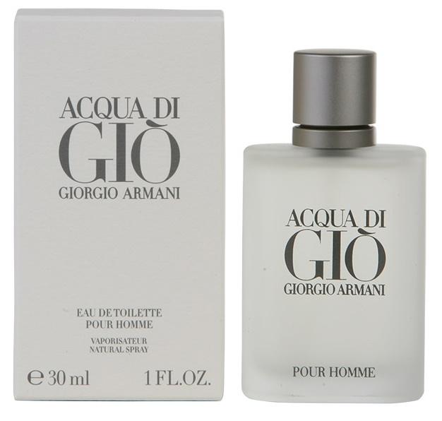 Giorgio Armani Acqua di Gio pour Homme, Toaletní voda, 30ml, Pánska vôňa, + AKCE: dárek zdarma