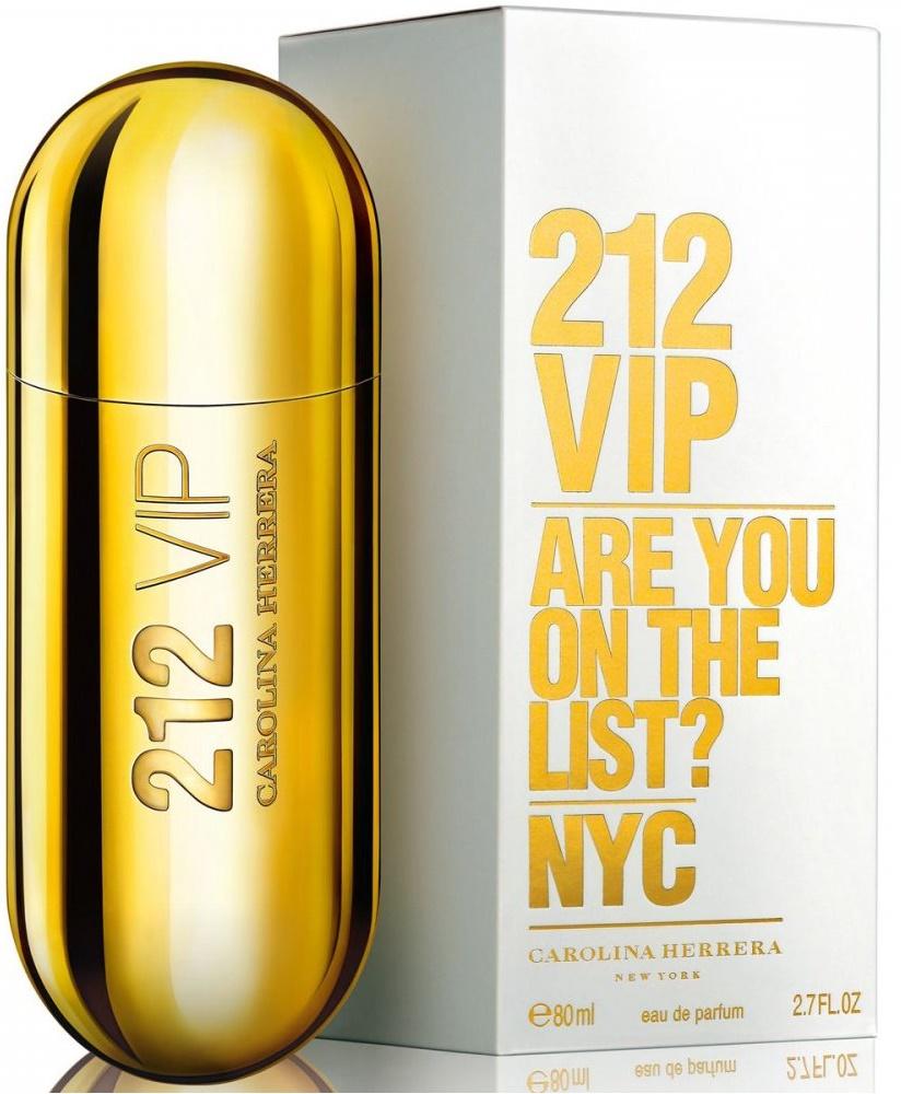 Carolina Herrera 212 VIP, Parfémovaná voda, 80ml, Dámska vôňa, + AKCE: dárek zdarma