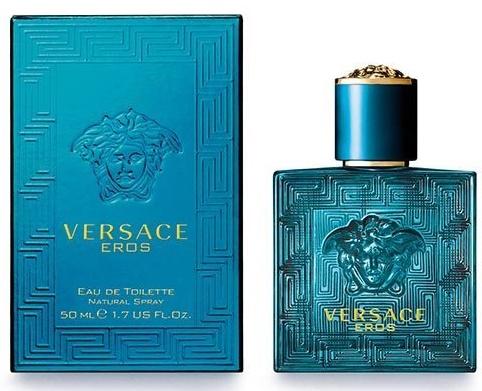 Versace Eros, Toaletní voda, 50ml, Pánska vôňa, + AKCE: dárek zdarma