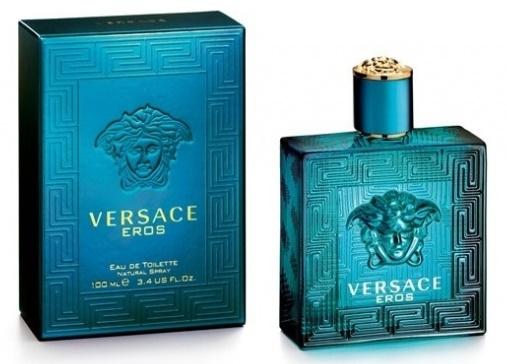 Versace Eros, Toaletní voda, 100ml, Pánska vôňa, + AKCE: dárek zdarma