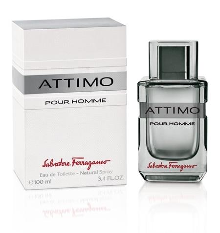 Salvatore Ferragamo Attimo pour homme, Toaletní voda, 100ml, Pánska vôňa, + AKCE: dárek zdarma