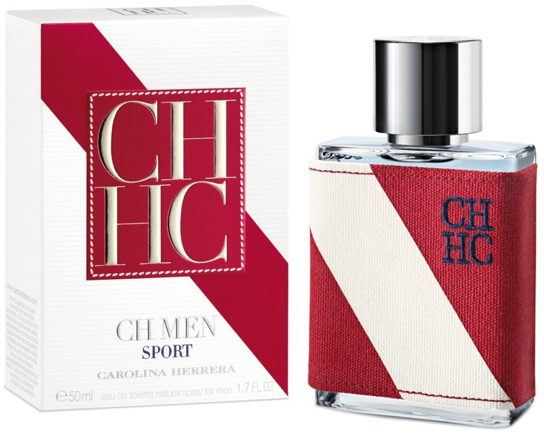 Carolina Herrera CH for Men Sport, Toaletní voda, 50ml, Pánska vôňa, + AKCE: dárek zdarma