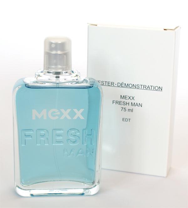 Mexx Fresh Man, Toaletní voda - Tester, 75ml, Pánska vôňa, + AKCE: dárek zdarma