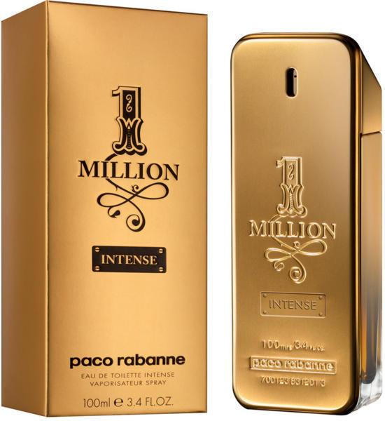 Paco Rabanne 1 Million Intensé, Toaletní voda, 100ml, Pánska vôňa, + AKCE: dárek zdarma