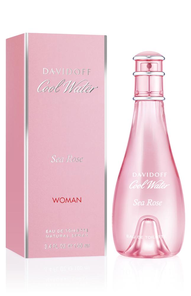 Davidoff Cool Water Sea Rose, Toaletní voda, 100ml, Dámska vôňa, + AKCE: dárek zdarma