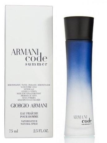 Giorgio Armani Code Summer Eau Fraiche pour Homme, Toaletní voda - Tester, 75ml, Pánska vôňa, + AKCE: dárek zdarma