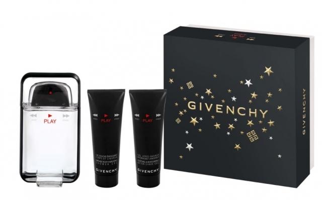 Givenchy Play for Man, Dárková sada, toaletní voda 100ml + sprchový gel 50ml + gél po holení 50ml, Pánska vôňa, + AKCE: dárek zdarma