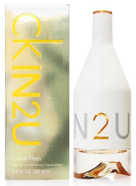 Calvin Klein In2U, Toaletní voda, 100ml, Dámska vôňa, + AKCE: dárek zdarma