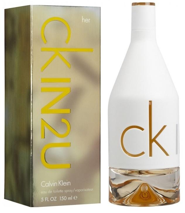 Calvin Klein In2U, Toaletní voda, 150ml, Dámska vôňa, + AKCE: dárek zdarma