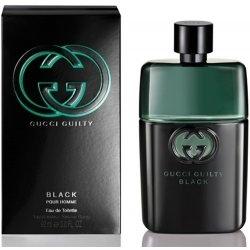 Gucci Guilty Black pour Homme, Toaletní voda, 50ml, Pánska vôňa, + AKCE: dárek zdarma