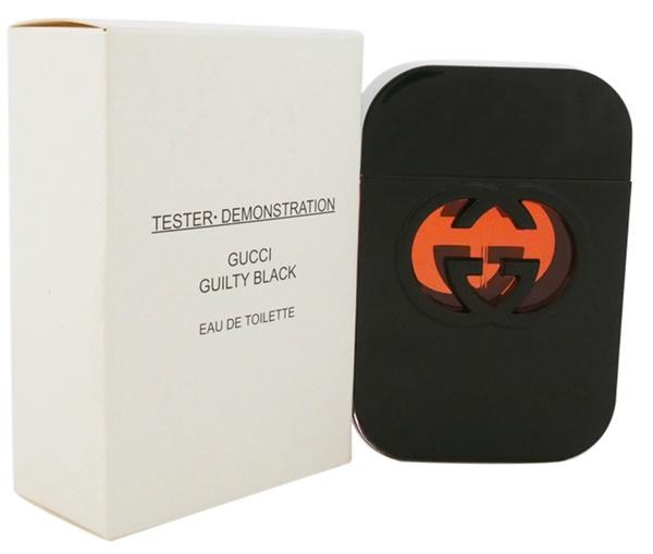 Gucci Guilty Black, Toaletní voda - Tester, 75ml, Dámska vôňa, + AKCE: dárek zdarma