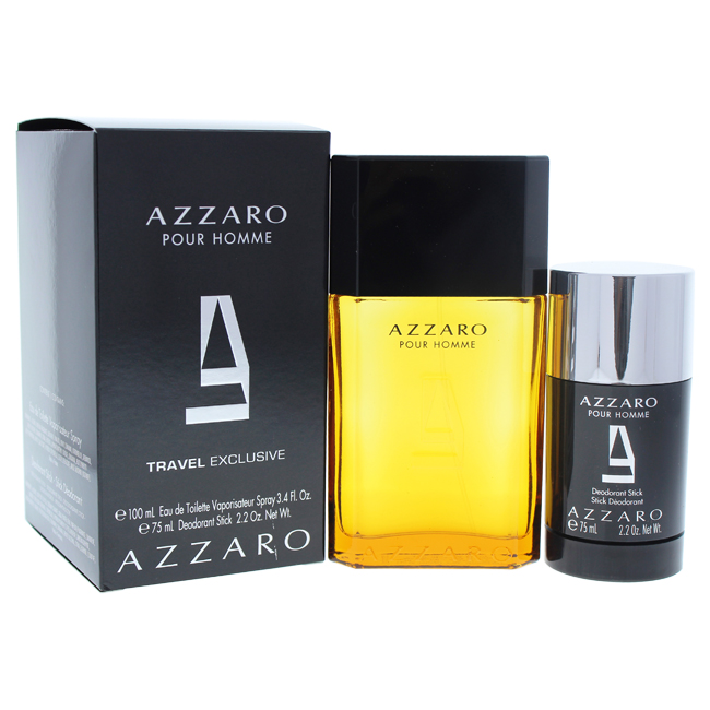 Azzaro Azzaro pour Homme, Dárková sada, toaletní voda 100ml + deostick 75ml, Pánska vôňa, + AKCE: dárek zdarma