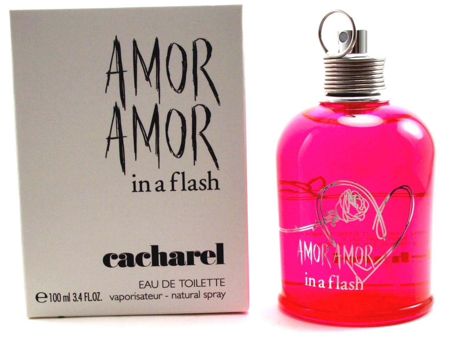 Cacharel Amor In a Flash, Toaletní voda - Tester, 100ml, Dámska vôňa, + AKCE: dárek zdarma