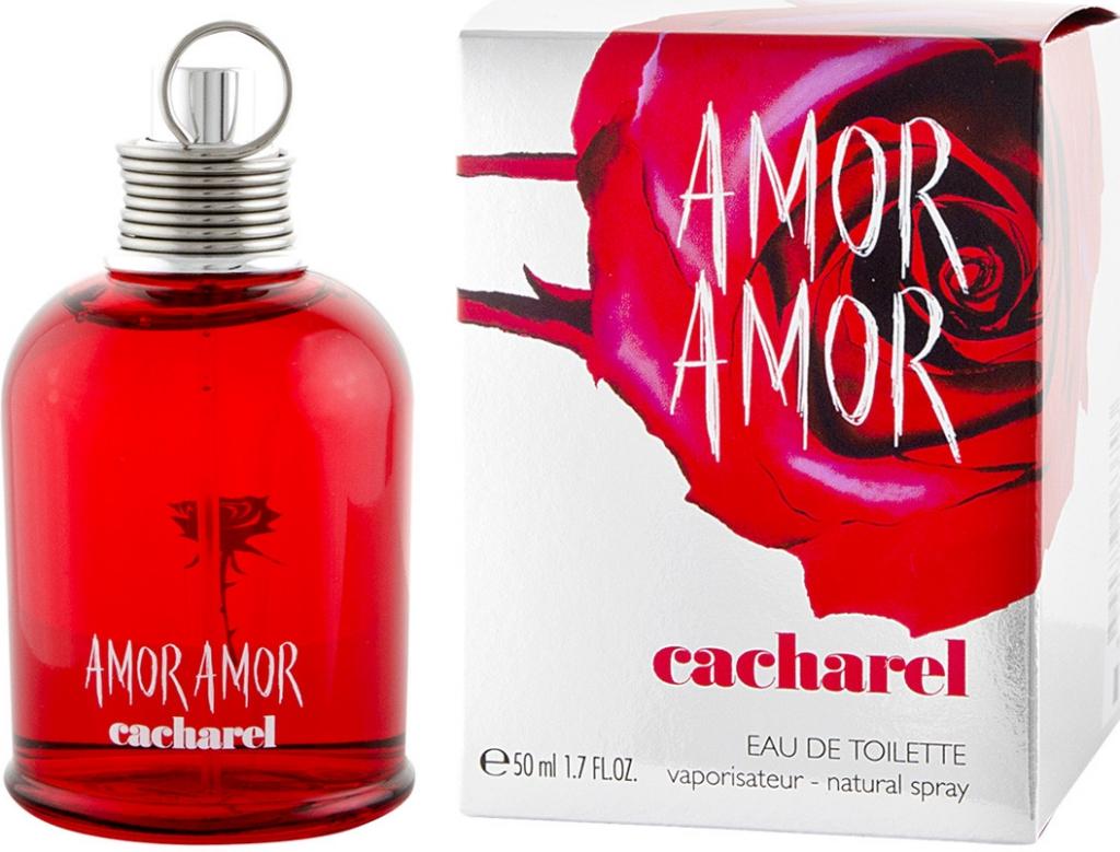 Cacharel Amor Amor, Toaletní voda, 50ml, Dámska vôňa, + AKCE: dárek zdarma