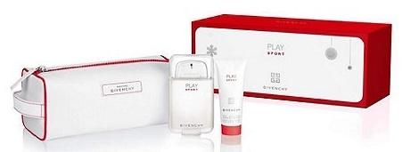 Givenchy Play Sport, Dárková sada, toaletní voda 100ml + sprchový gel 75ml + taška, Pánska vôňa, + AKCE: dárek zdarma
