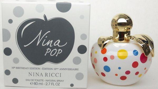 Nina Ricci Nina Pop, Toaletní voda - Tester, 80ml, Dámska vôňa, + AKCE: dárek zdarma