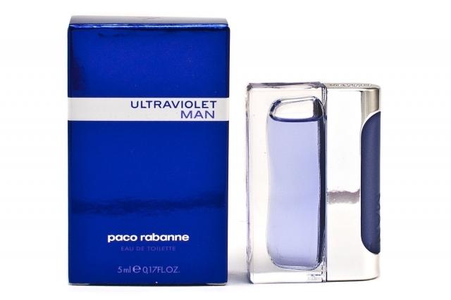 Paco Rabanne Ultraviolet Man, Toaletní voda, 5ml, Pánska vôňa, + AKCE: dárek zdarma