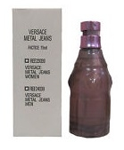 Versace Metal Jeans Woman, Toaletní voda - Tester, 75ml, Dámska vôňa, + AKCE: dárek zdarma