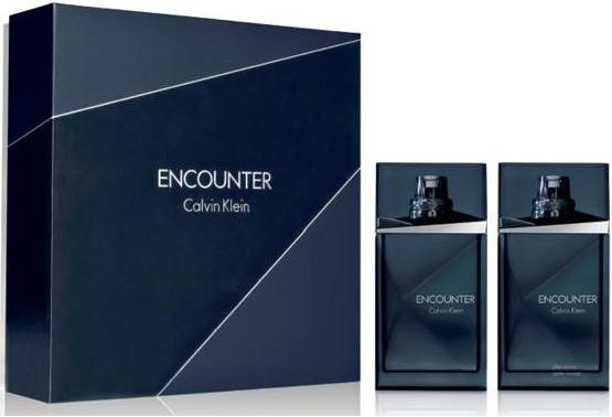 Calvin Klein Encounter, Dárková sada, toaletní voda 100ml + voda po holení 100ml, Pánska vôňa, + AKCE: dárek zdarma