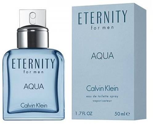 Calvin Klein Eternity Aqua, Toaletní voda, 50ml, Pánska vôňa, + AKCE: dárek zdarma