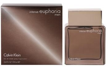 Calvin Klein Euphoria Intense, Toaletní voda, 100ml, Pánska vôňa, + AKCE: dárek zdarma