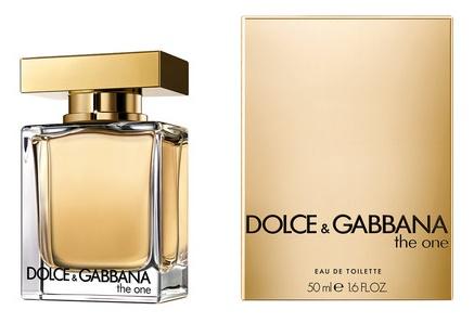 Dolce & Gabbana The One, Toaletní voda, 50ml, Dámska vôňa, + AKCE: dárek zdarma
