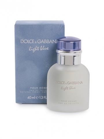 Dolce & Gabbana Light Blue pour Homme, Toaletní voda, 40ml, Pánska vôňa, + AKCE: dárek zdarma