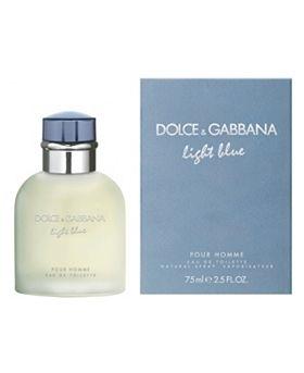 Dolce & Gabbana Light Blue pour Homme, Toaletní voda, 75ml, Pánska vôňa, + AKCE: dárek zdarma