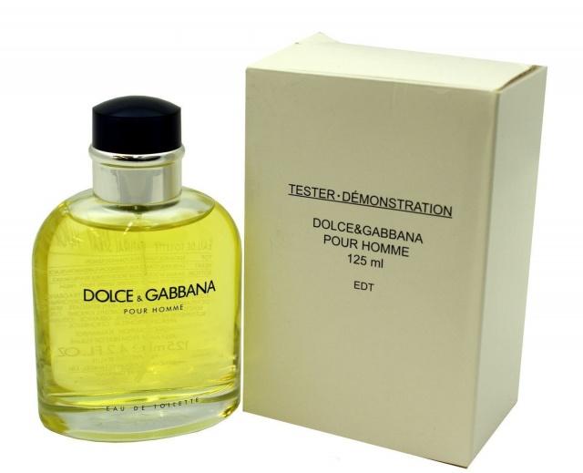 Dolce & Gabbana Dolce & Gabbana Pour Homme, Toaletní voda - Tester, 125ml, Pánská vůně, + AKCE: dárek zdarma