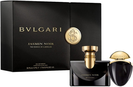Bvlgari Jasmin Noir, Dárková sada, parfémovaná voda 50ml + parfémovaná voda 15ml, Dámska vôňa, + AKCE: dárek zdarma