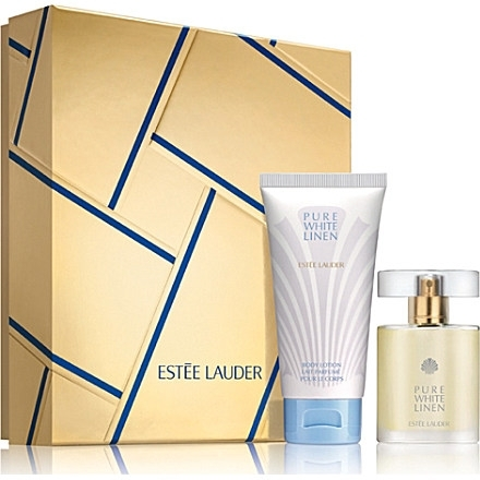 Estee Lauder Pure White Linen, Dárková sada, parfémovaná voda 30ml + tělové mléko 75ml, Dámska vôňa, + AKCE: dárek zdarma